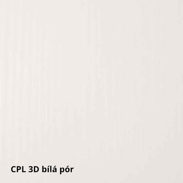 CPL 3D Bílá pór
