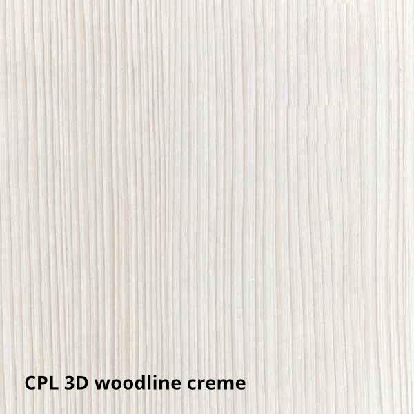 CPL 3D Woodline Creme